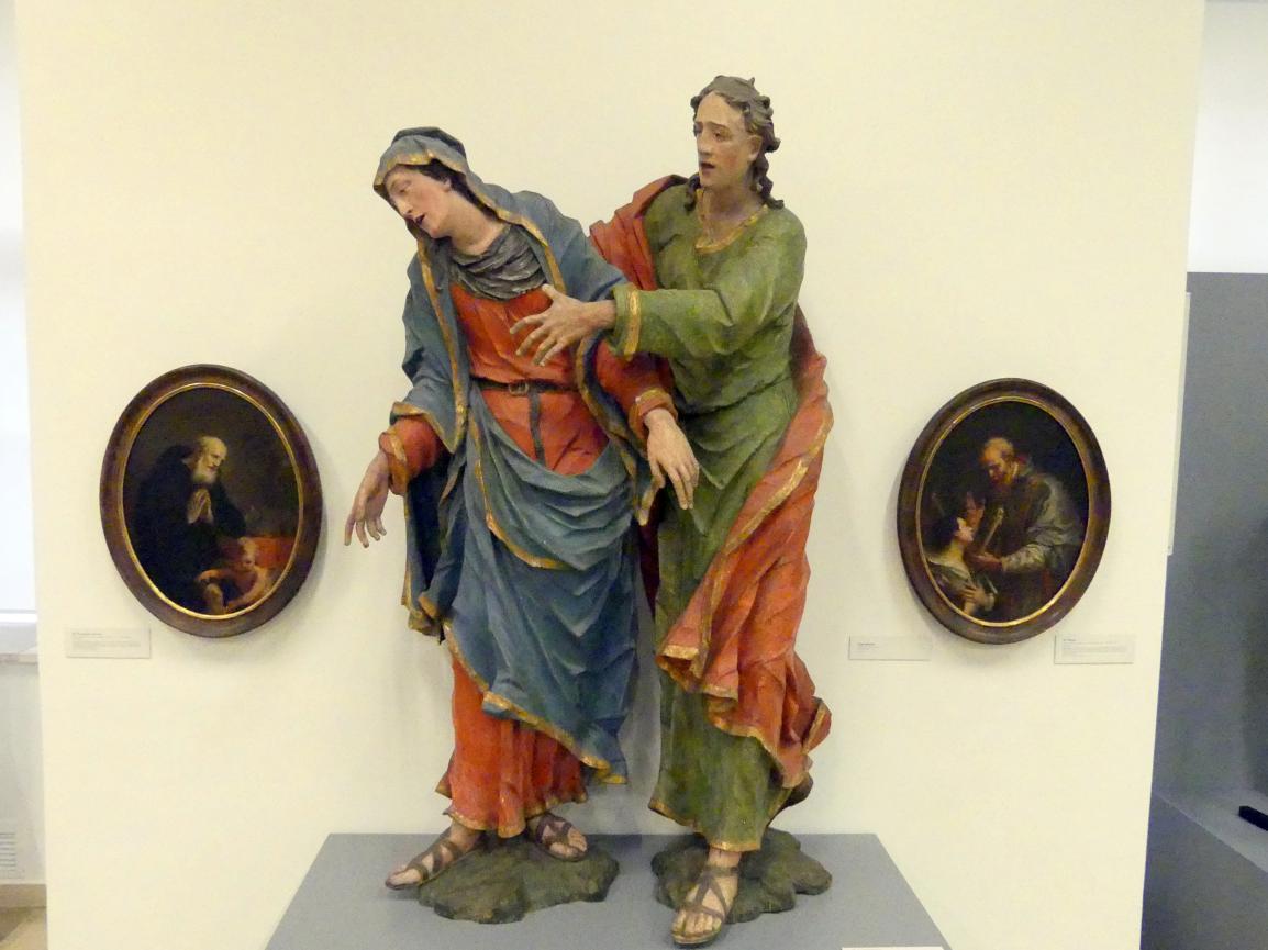 Johann Peter Schwanthaler der Ältere: Maria und Johannes, Undatiert