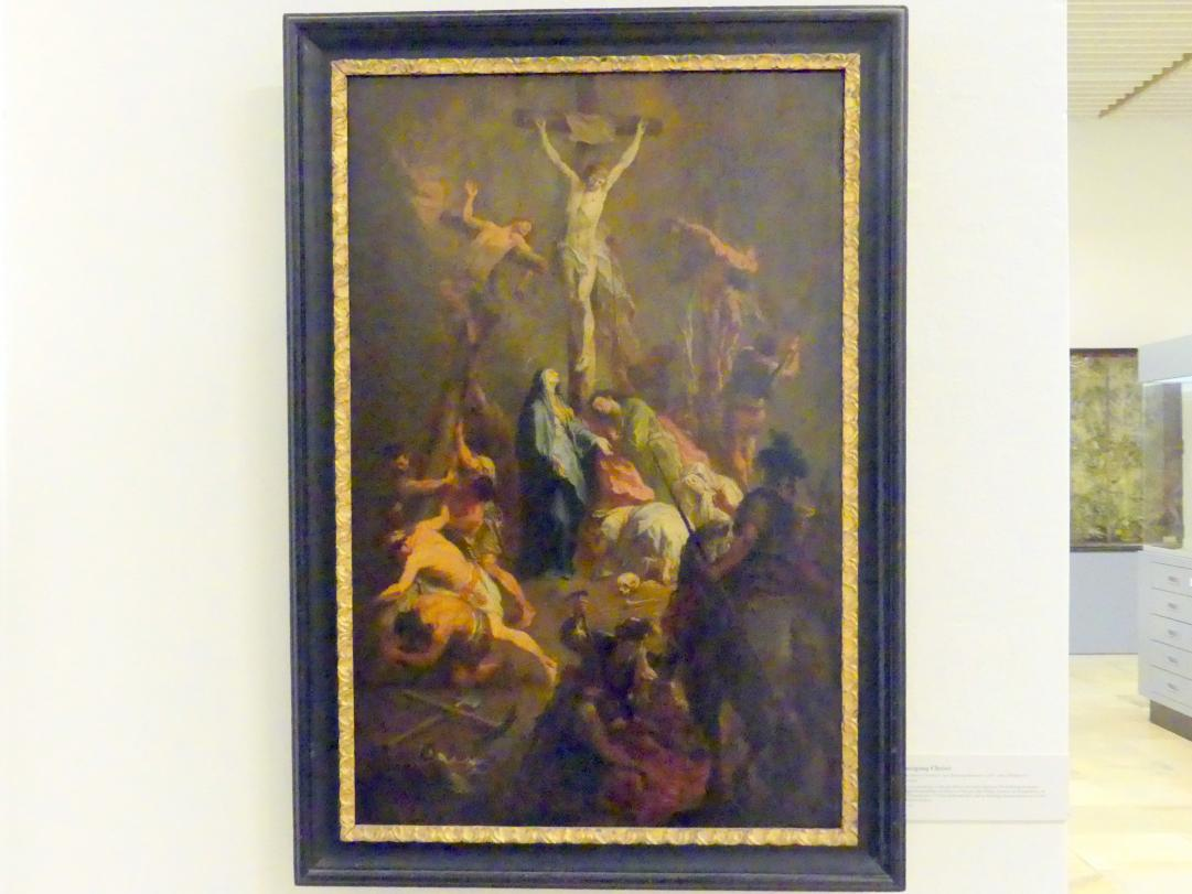 Martin Johann Schmidt (Kremser Schmidt) (Schüler): Kreuzigung Christi, Undatiert