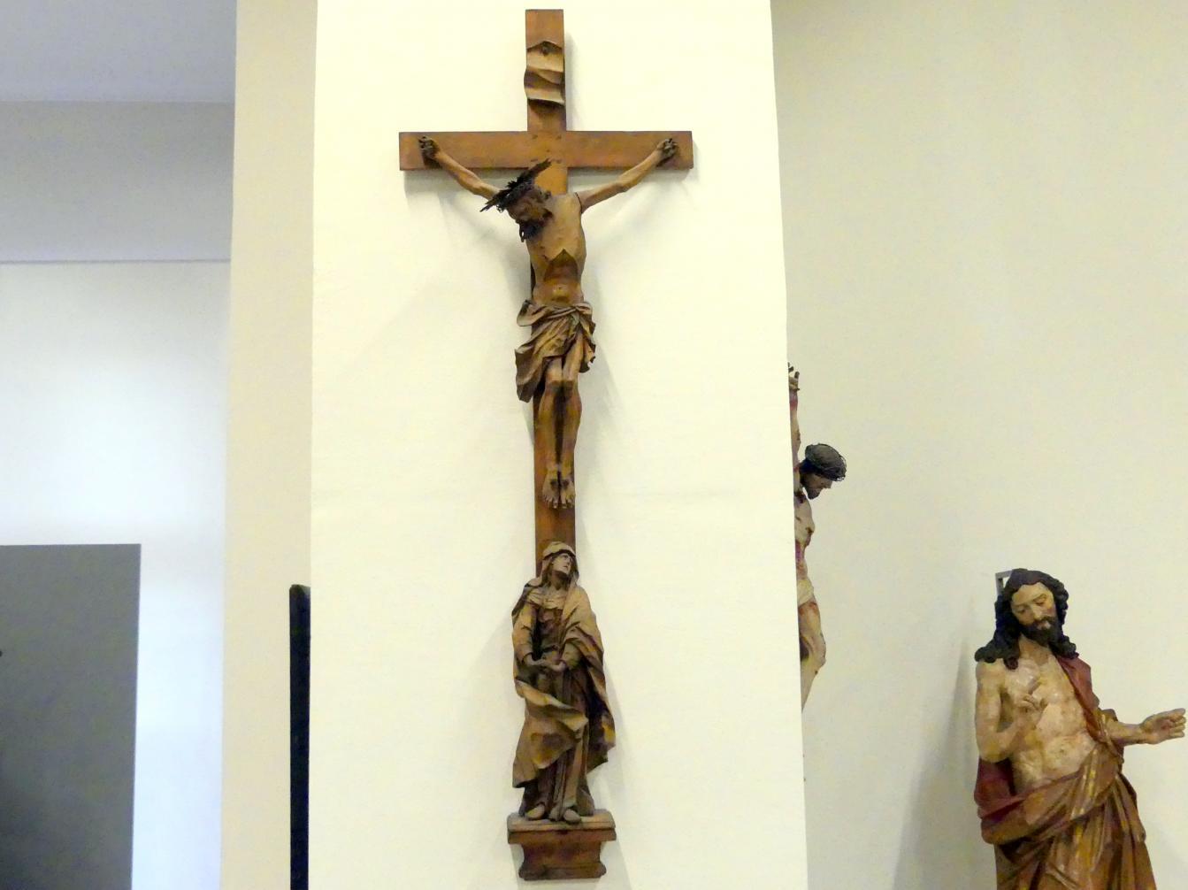 Johann Peter Schwanthaler der Ältere: Kruzifix und trauernde Maria, Undatiert