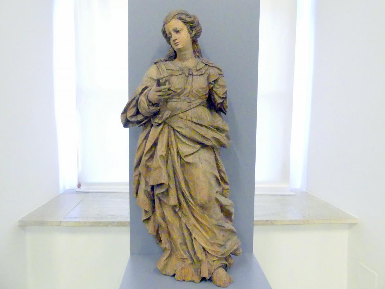 Thomas Schwanthaler: Weibliche Heilige, Undatiert