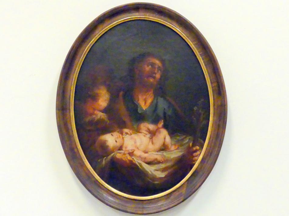 Martin Johann Schmidt (Kremser Schmidt) (Schüler): Hl. Josef mit Kind, 1768