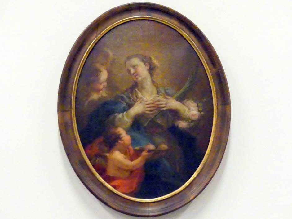 Martin Johann Schmidt (Kremser Schmidt) (Schüler): Hl. Agathe, 1768