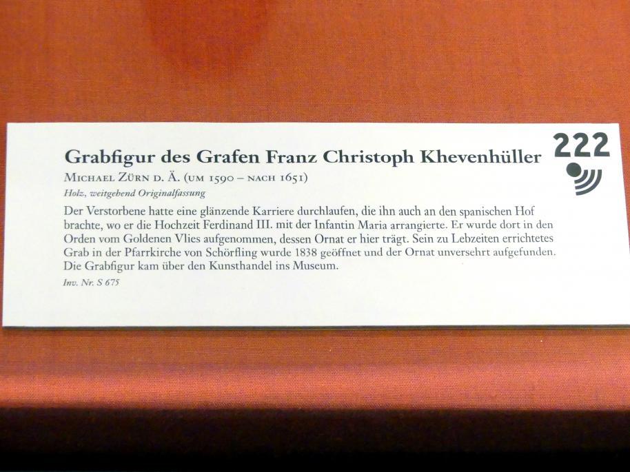 Michael Zürn der Ältere: Grabfigur des Grafen Franz Christoph Khevenhüller, Undatiert, Bild 5/5