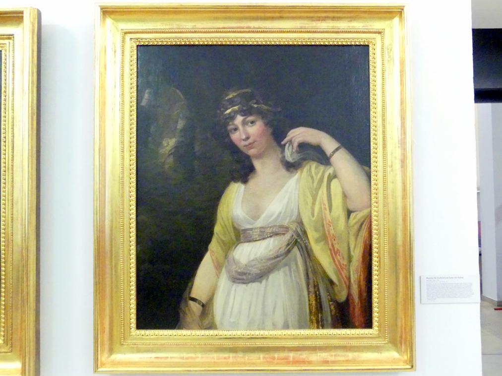 Josef Abel: Portrait Anna von Vering, 1799