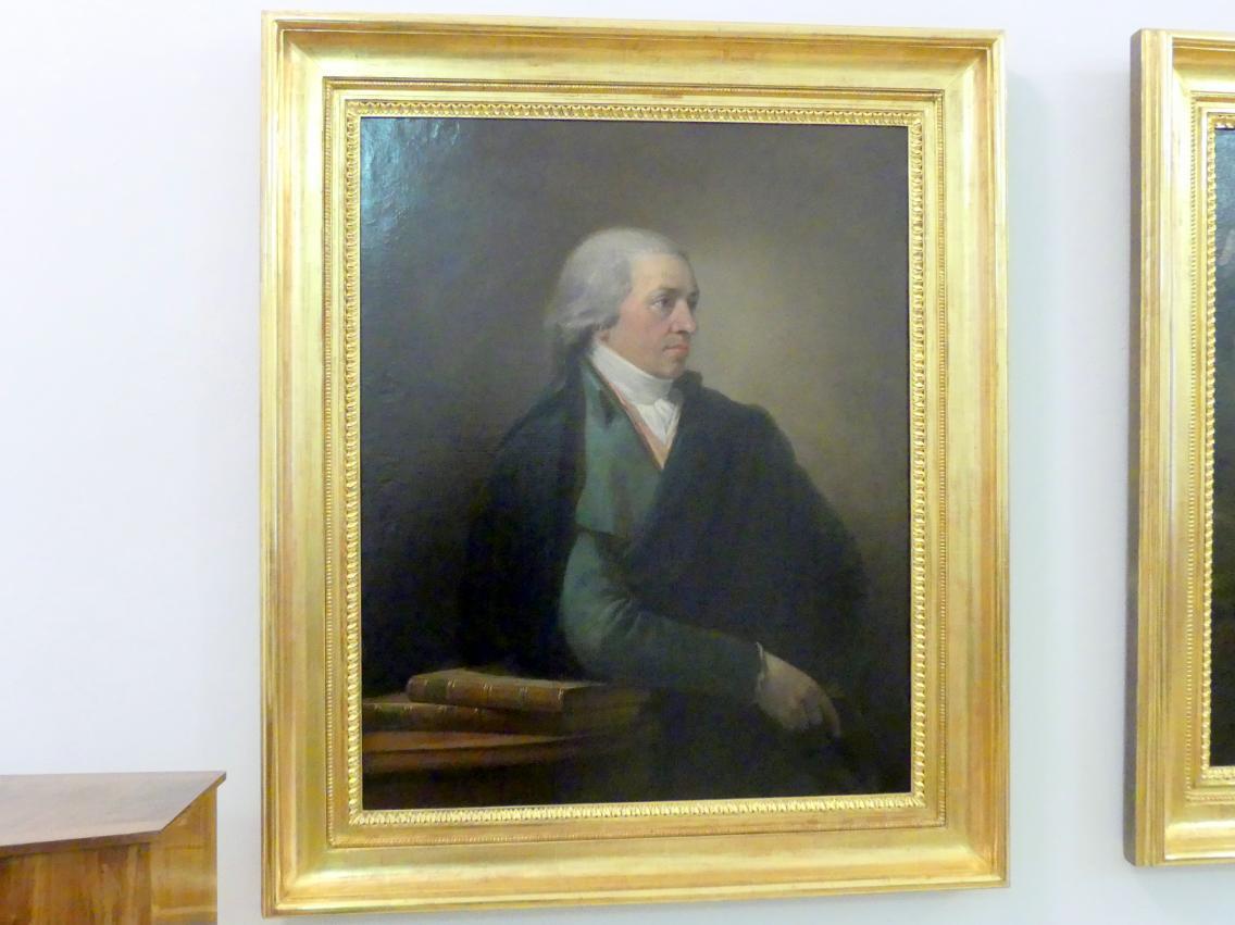 Josef Abel: Portrait Dr. Gerhard von Vering, 1798