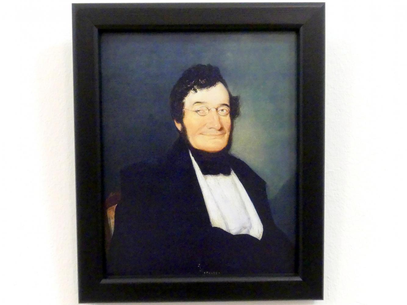 Leopold Gross: Portrait Johann van Beethoven, 1841