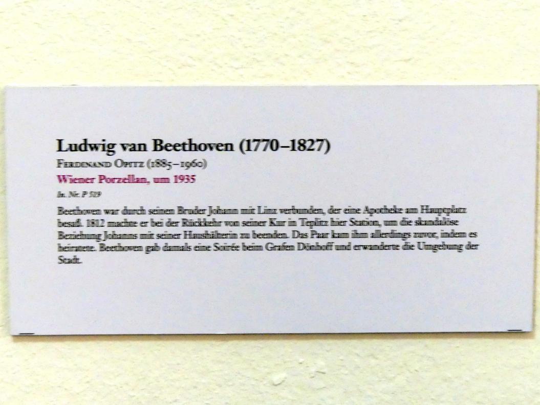 Ferdinand Opitz: Ludwig van Beethoven, um 1935, Bild 2/2