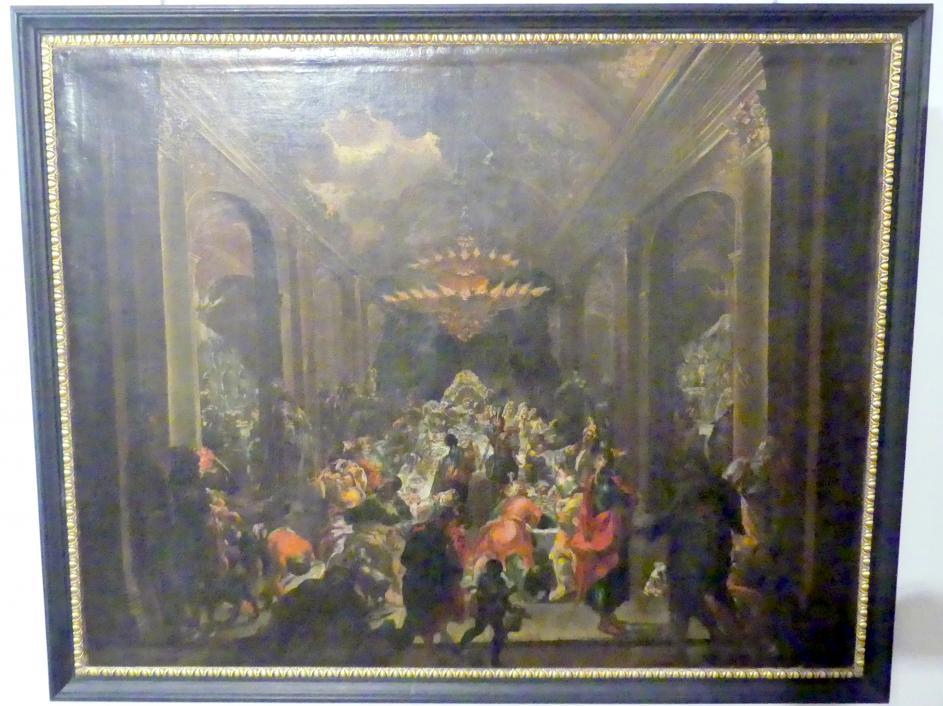 Wolfgang Andreas Heindl: Das Gastmahl des Belsazar, 1487