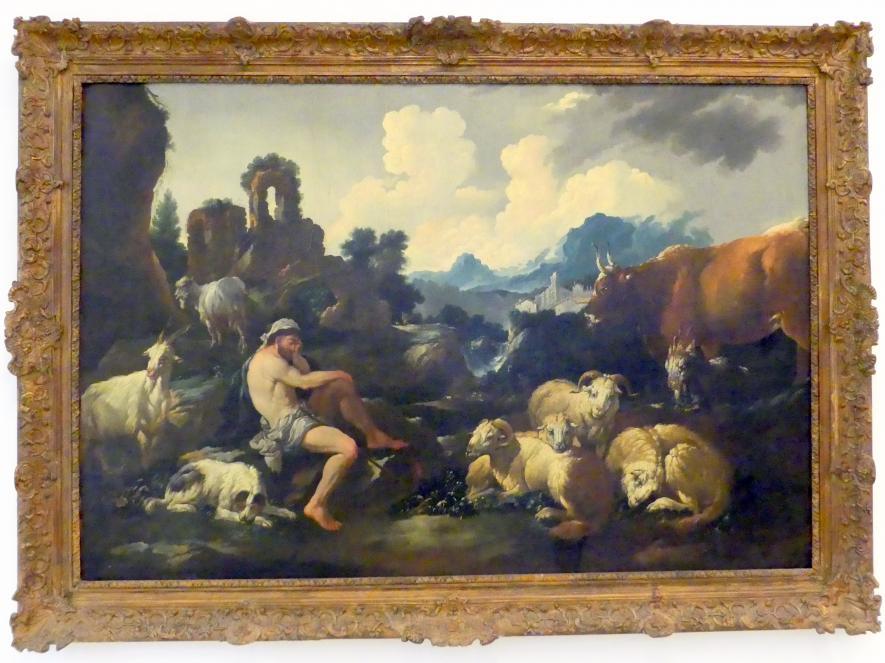 Johann Heinrich Roos: Hirt mit Herde, Undatiert