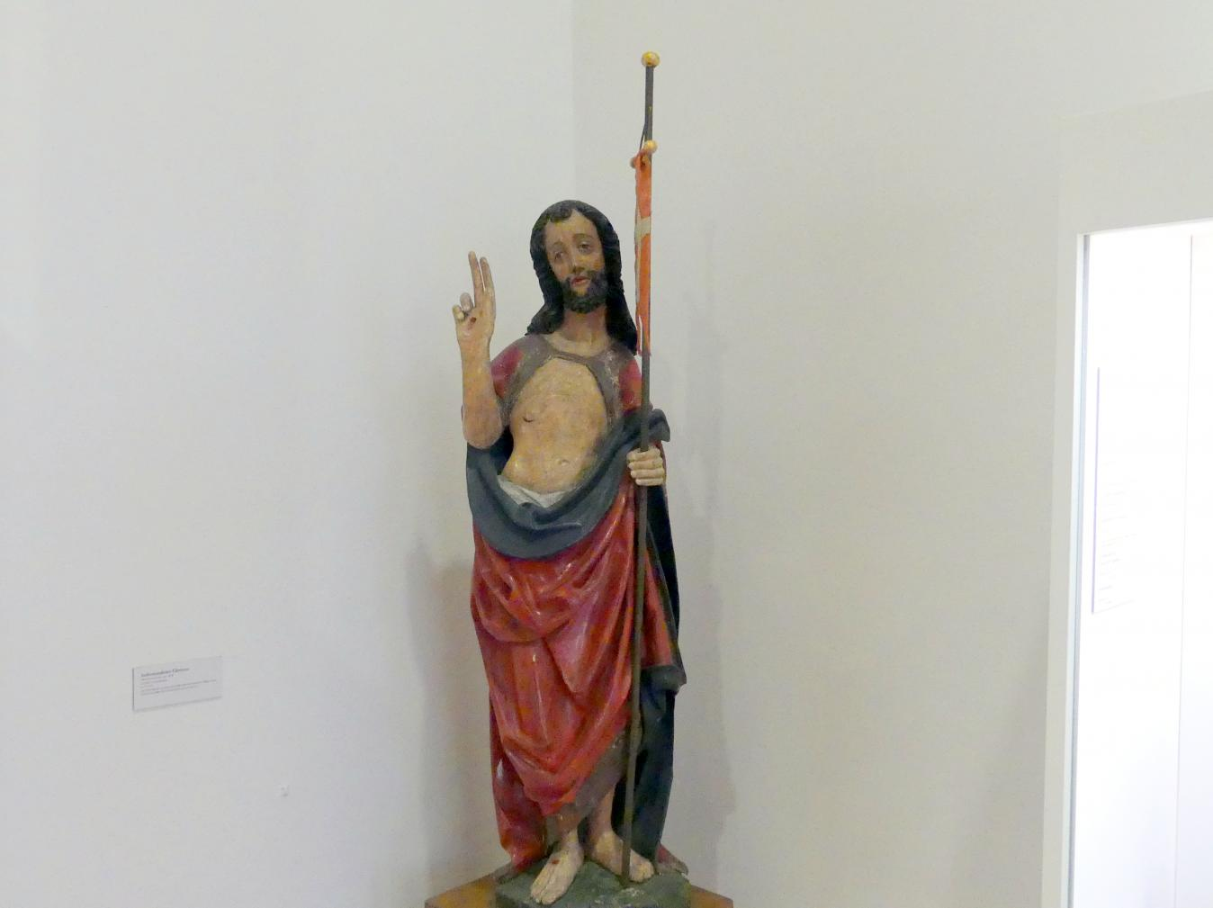 Auferstandener Christus, um 1470