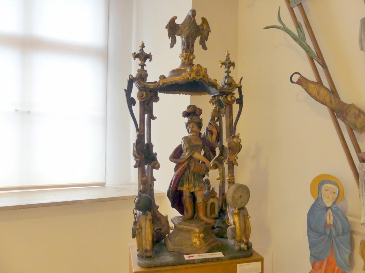 Altar mit hl. Florian, 18. Jhd.