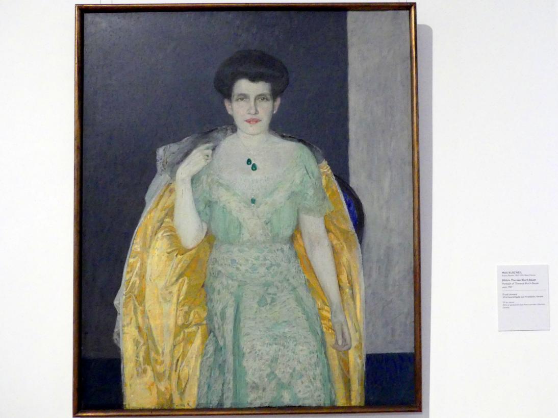 Max Kurzweil: Bildnis Therese Bloch-Bauer, um 1907, Bild 1/2