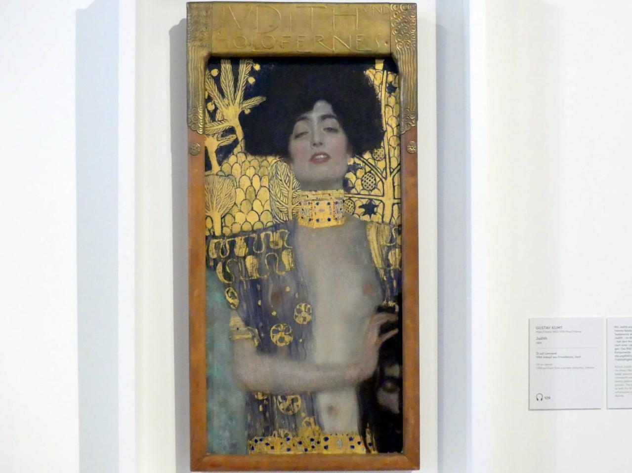 Gustav Klimt: Judith, 1901