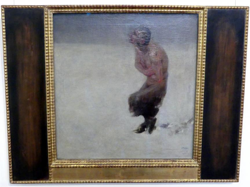 Franz von Stuck: Verirrt, 1891