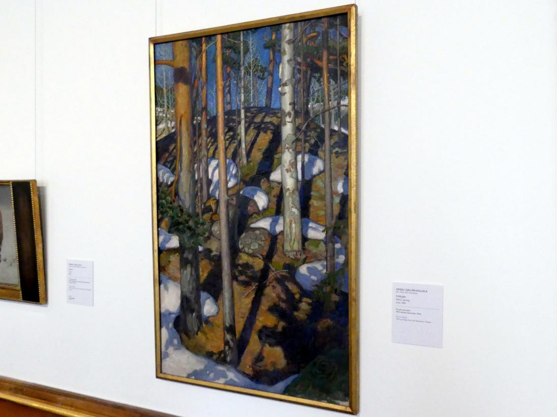 Akseli Gallen-Kallela: Frühjahr, um 1900, Bild 1/2
