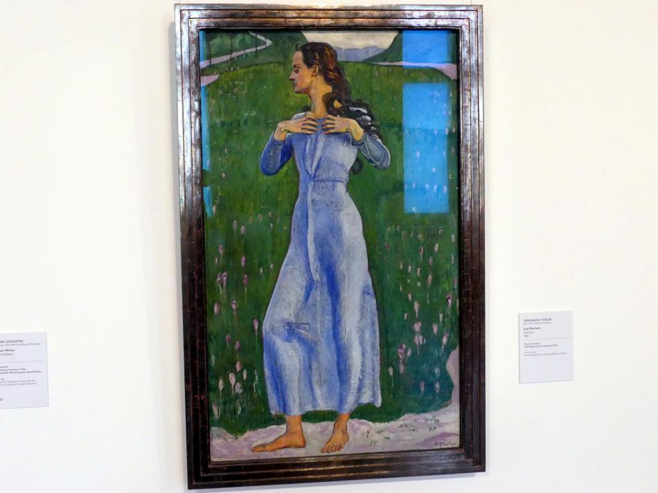 Ferdinand Hodler: Ergriffenheit, 1900