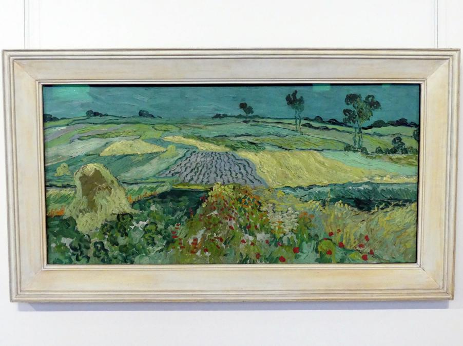 Vincent van Gogh: Die Ebene von Auvers, 1890