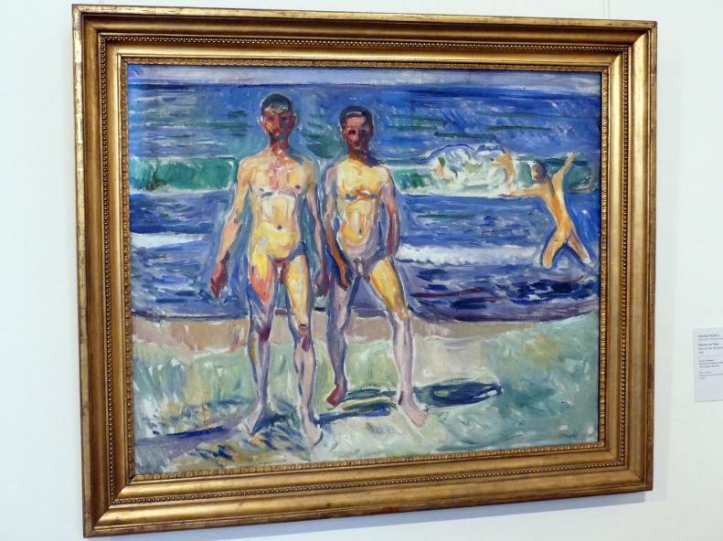 Edvard Munch: Männer am Meer, 1908