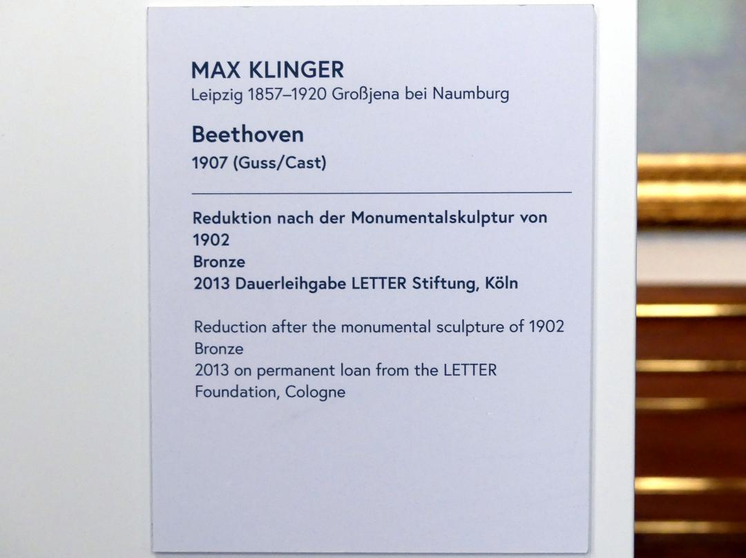 Max Klinger: Beethoven, 1907, Bild 7/7