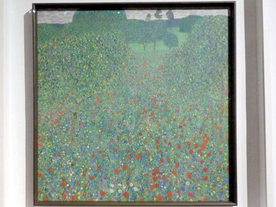 Gustav Klimt: Blühender Mohn, 1907