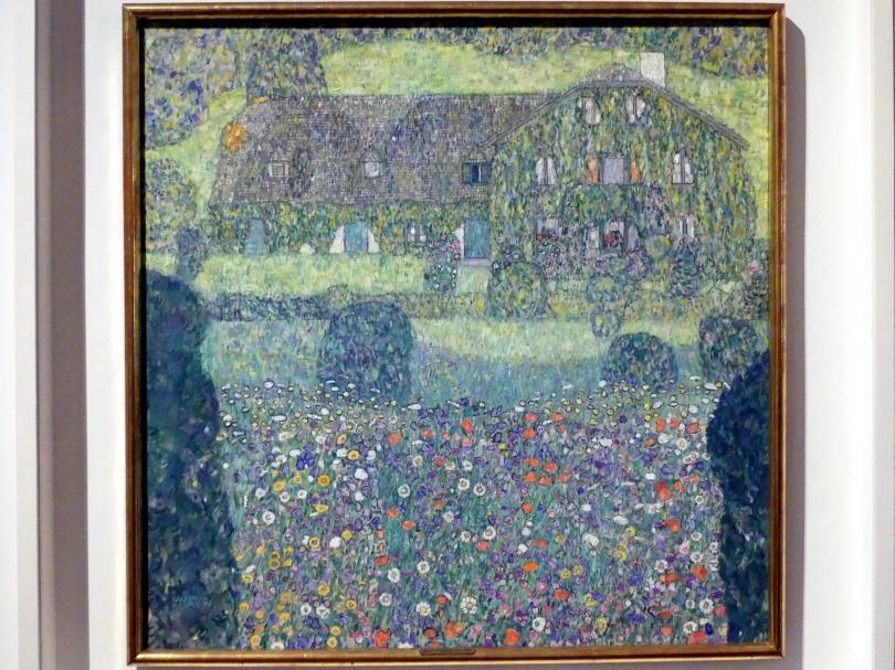Gustav Klimt: Forsthaus in Weißenbach I (Landhaus am Attersee), 1914