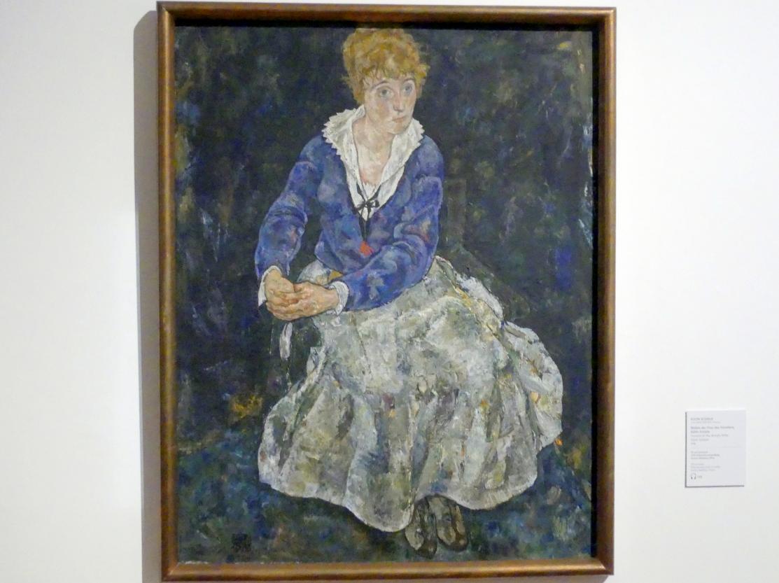Egon Schiele: Bildnis der Frau des Künstlers Edith Schiele, 1918
