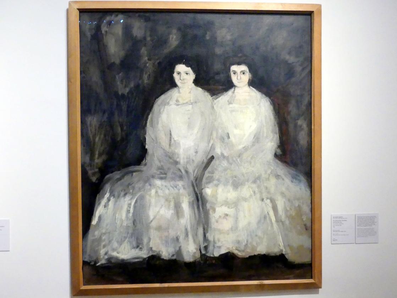Richard Gerstl: Die Schwestern Karoline und Pauline Fey, 1905