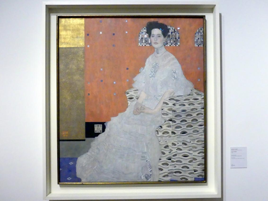 Gustav Klimt: Fritza Riedler, 1906