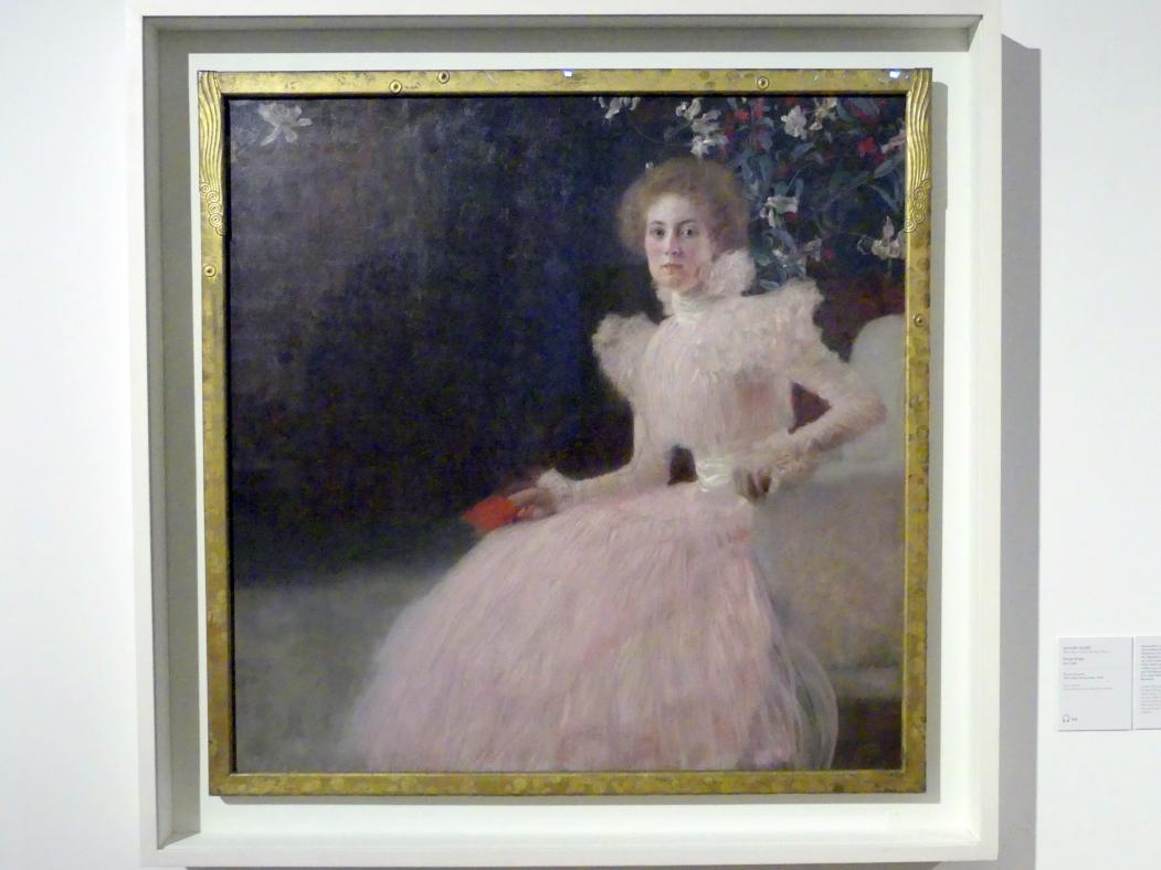 Gustav Klimt: Sonja Knips, 1897 - 1898, Bild 1/2