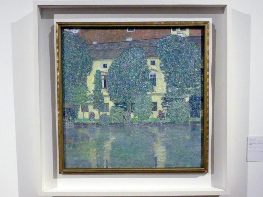 Gustav Klimt: Schloss Kammer am Attersee III, 1909 - 1910, Bild 1/2