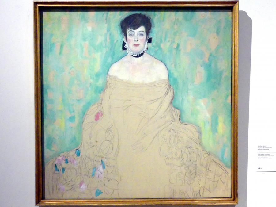 Gustav Klimt: Amalie Zuckerkandl, 1917 - 1918