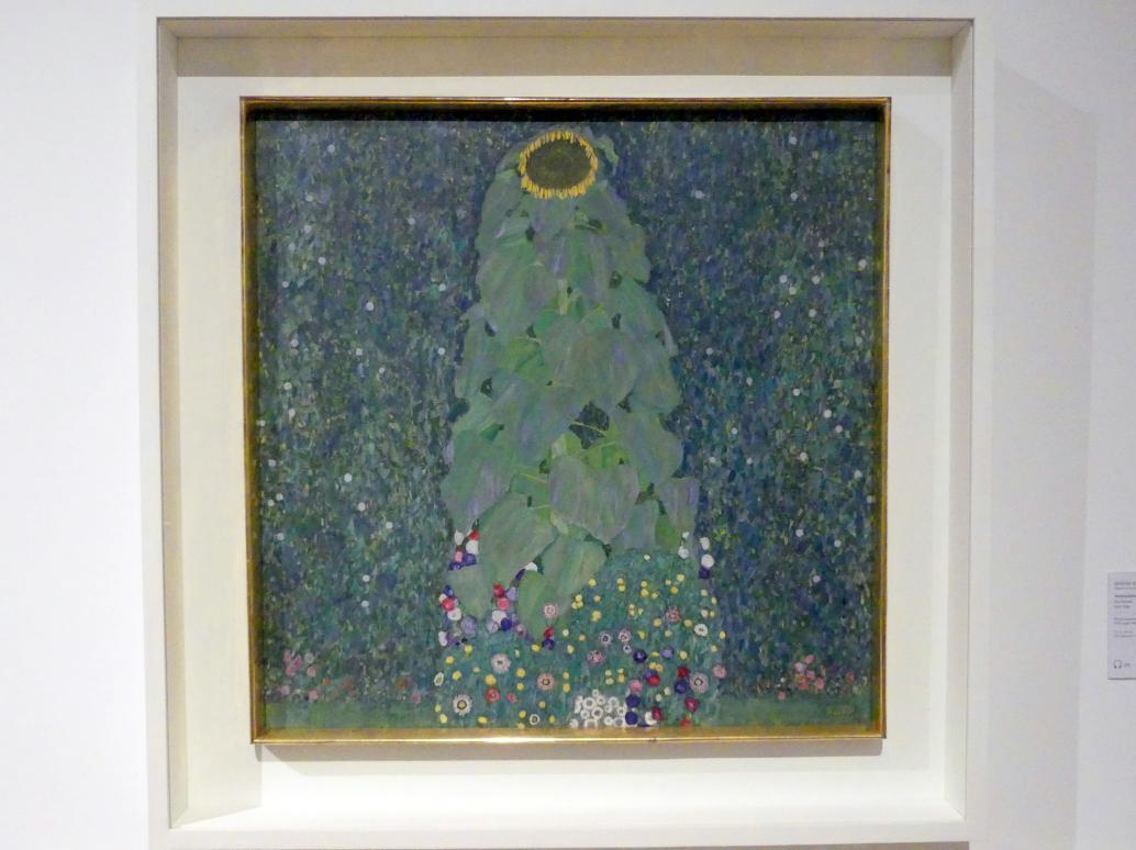 Gustav Klimt: Sonnenblume, 1907 - 1908