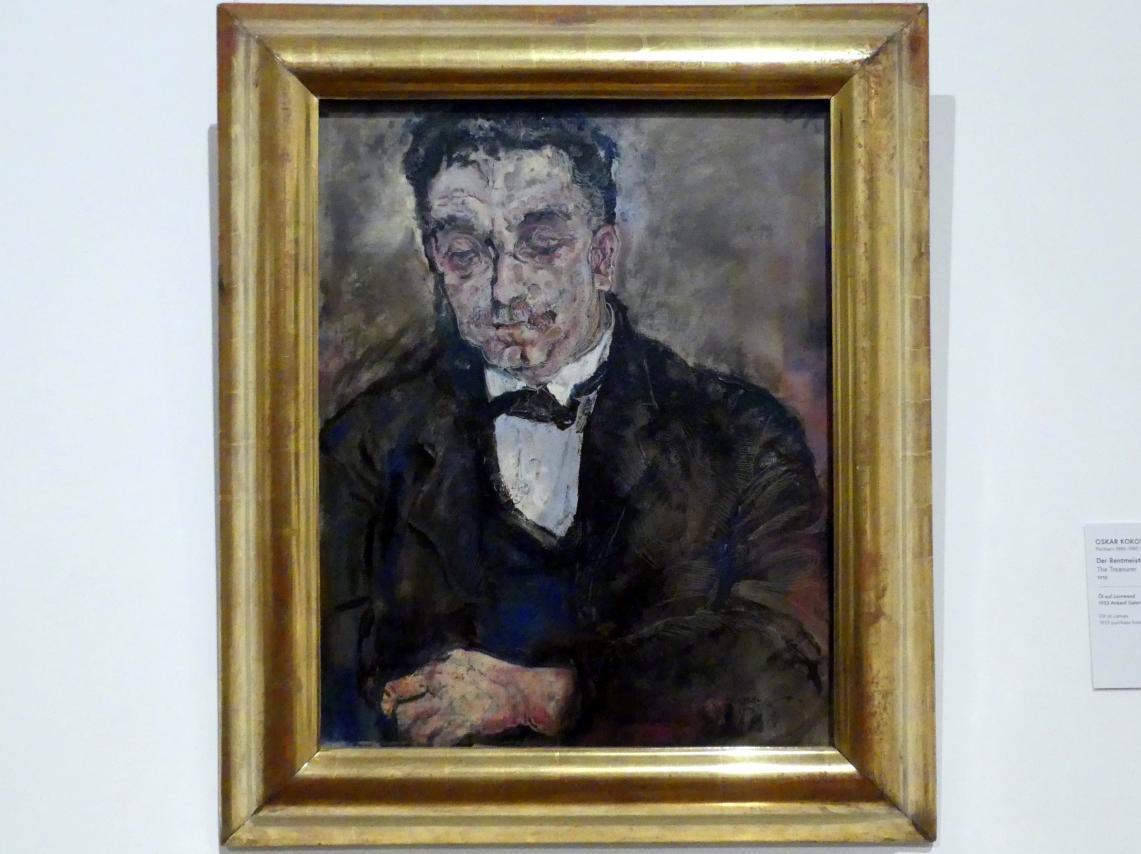 Oskar Kokoschka: Der Rentmeister, 1910