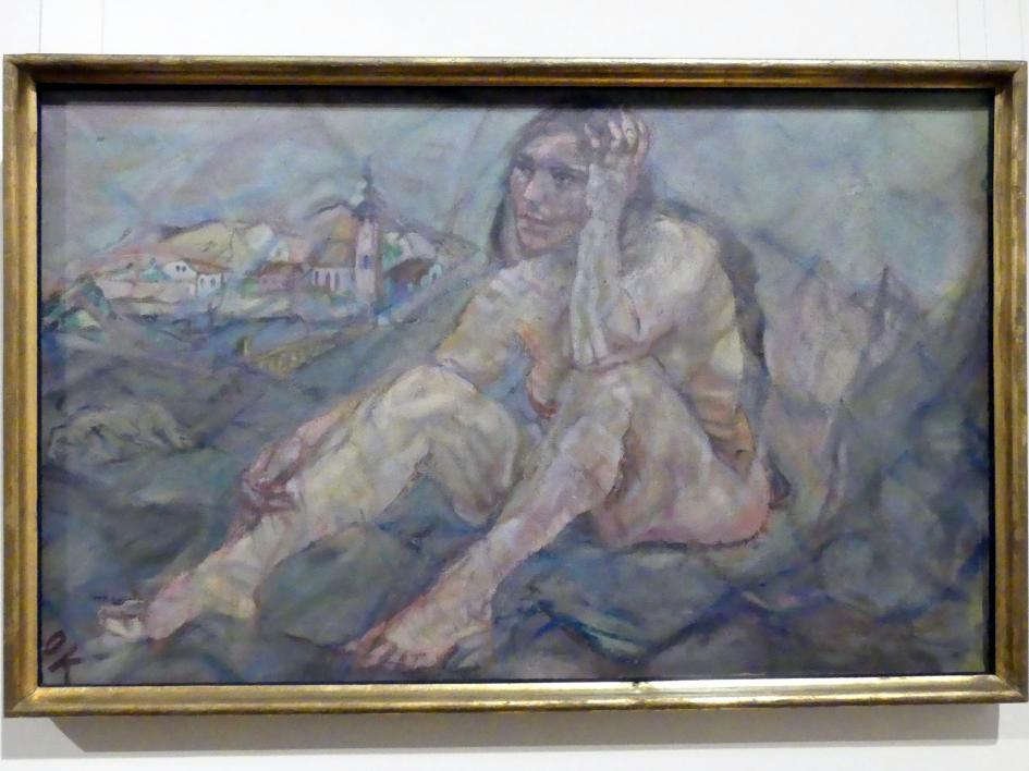 Oskar Kokoschka: Heimsuchung, 1912