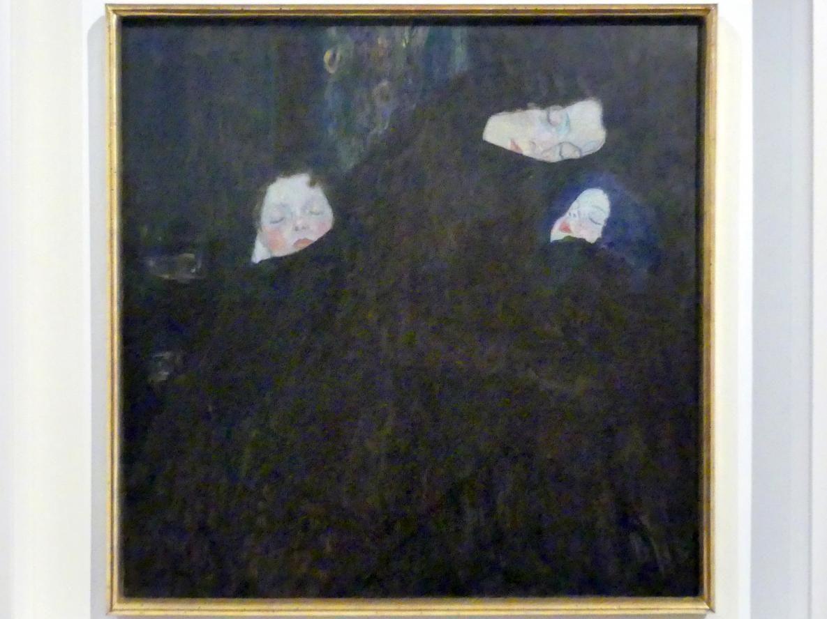 Gustav Klimt: Mutter mit zwei Kindern (Familie), 1909 - 1910