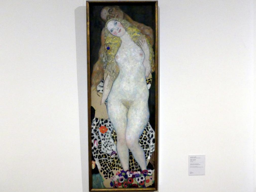 Gustav Klimt: Adam und Eva, 1917 - 1918