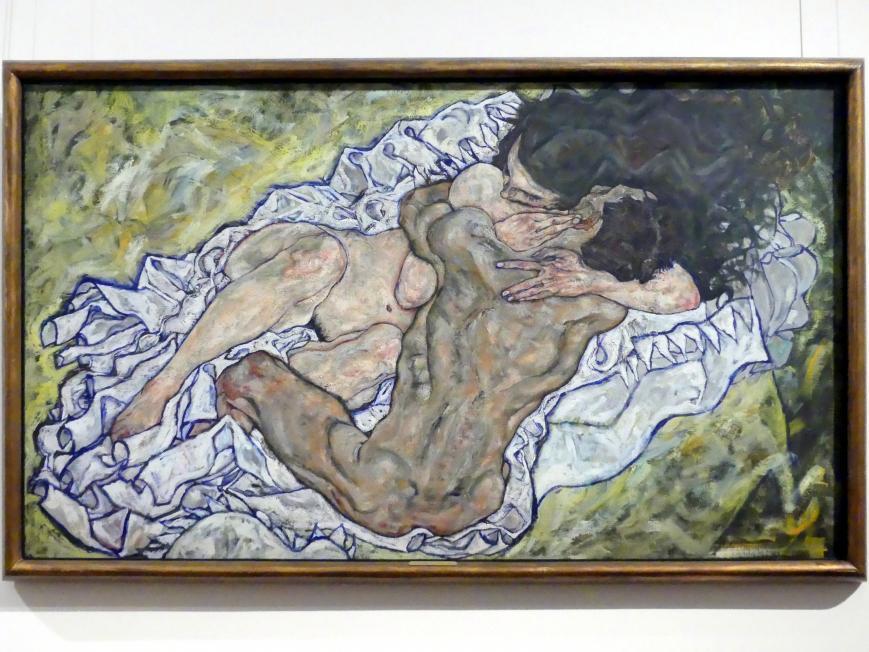 Egon Schiele: Die Umarmung, 1917