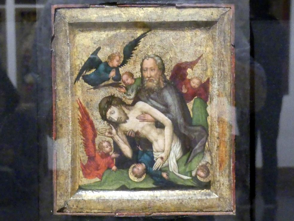Meister der St. Lambrechter Votivtafel (Werkstatt): Heilige Dreifaltigkeit (Not Gottes), um 1420 - 1430