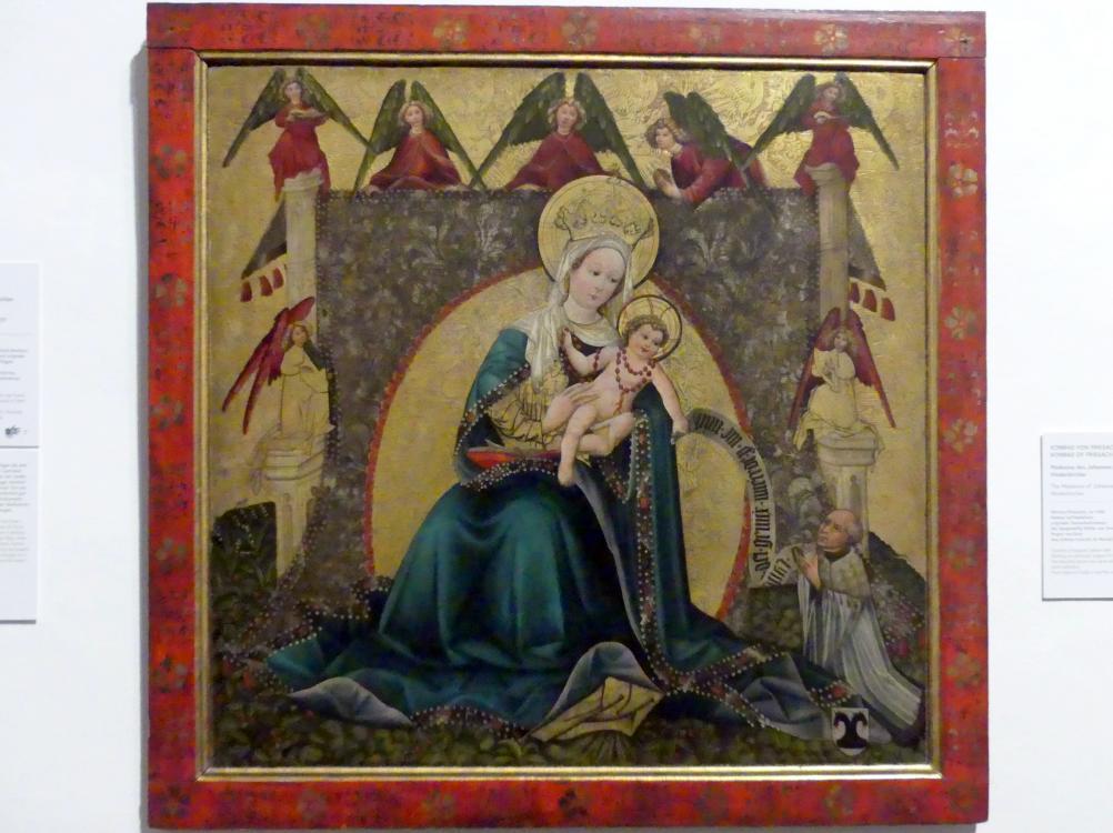 Konrad von Friesach: Madonna des Johannes Hinderkircher, vor 1445