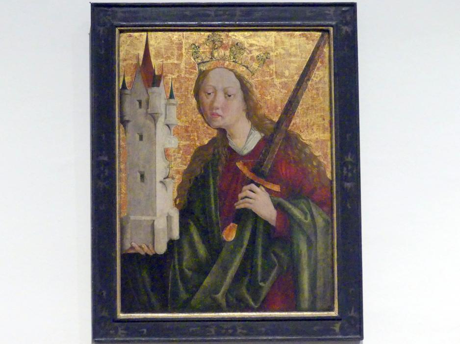 Michael Pacher (Werkstatt): Hl. Barbara, Um 1480 - 1490