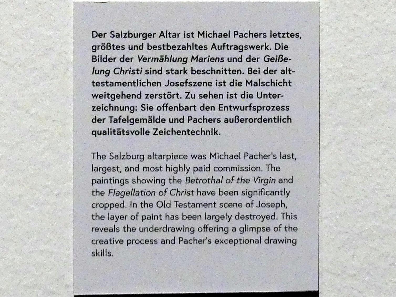 Michael Pacher: Josef wird in den Brunnen geworfen, vor 1497, Bild 3/3