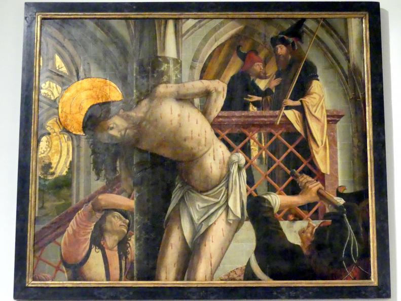 Michael Pacher: Geißelung Christi, vor 1497