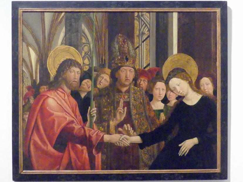 Michael Pacher: Vermählung Mariens, vor 1497