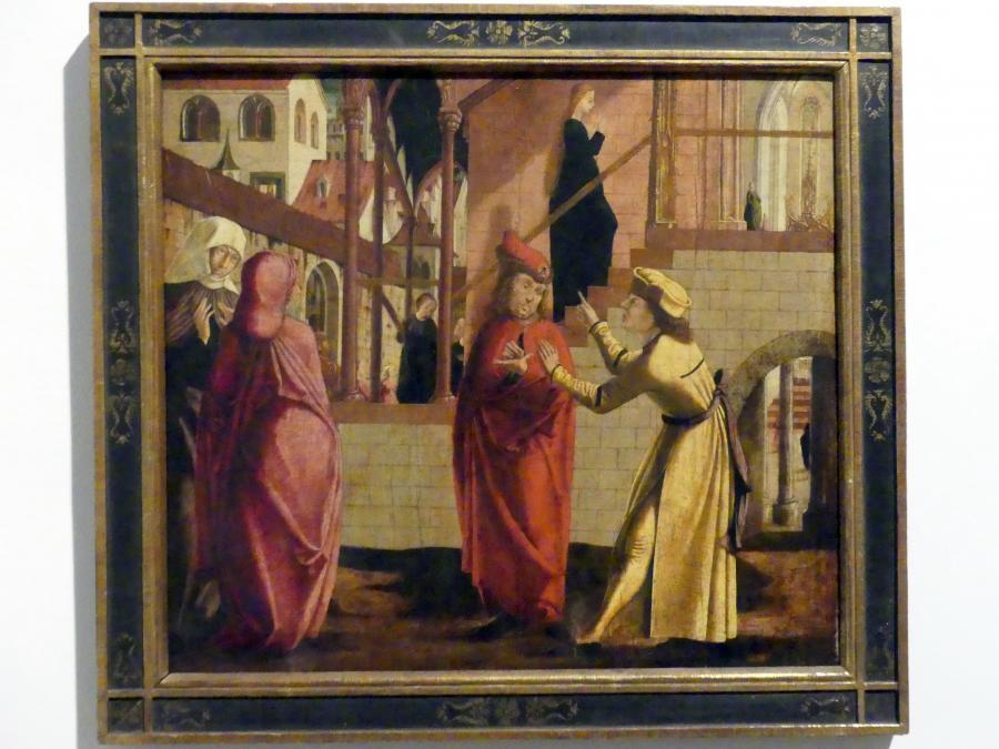 Marx Reichlich: Tempelgang Mariens, 1502