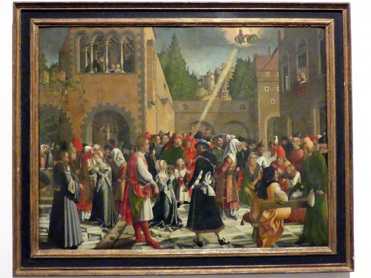 Urban Görtschacher: Susannenlegende, Um 1520