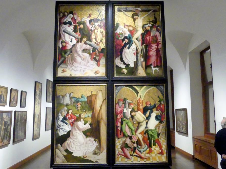 Rueland Frueauf der Ältere: Der Salzburger Altar, ehem. Innenseite (Passionsszenen), um 1490 - 1491