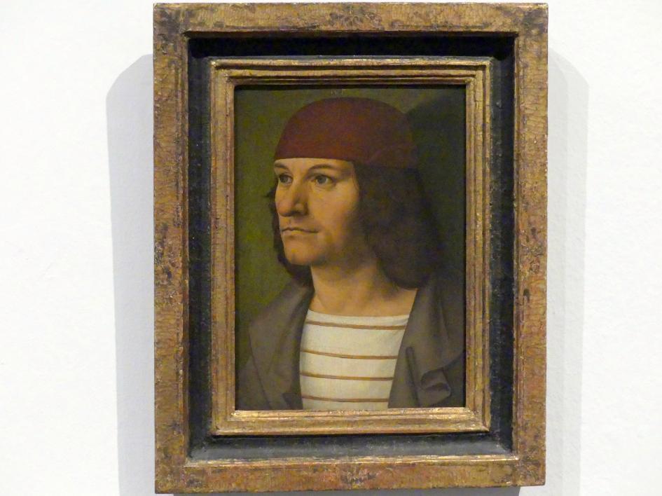 Rueland Frueauf der Ältere: Bildnis des Malers Jobst Seyfrid, um 1490