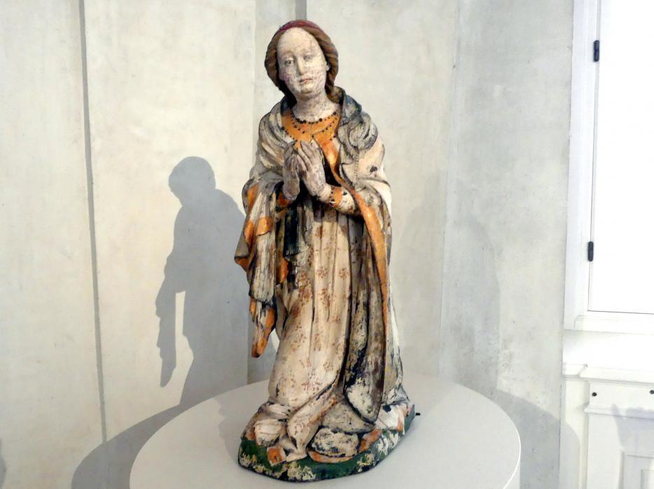 Kniende Maria, Um 1430 - 1440