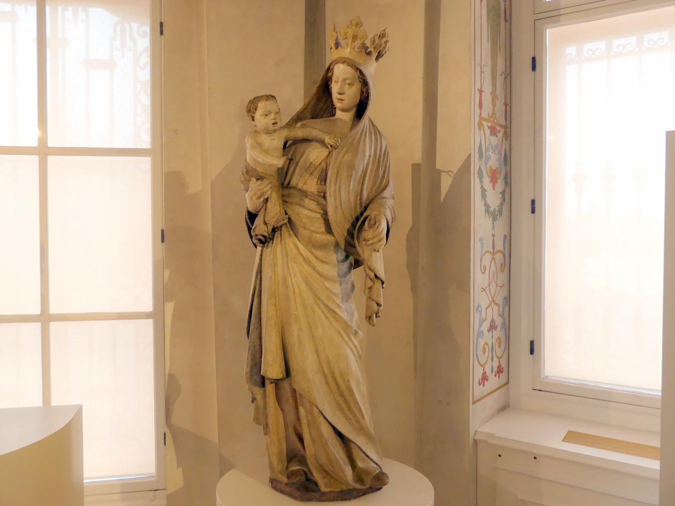 Wiener Michaelermeister: Madonna vom Sonntagberg, um 1360