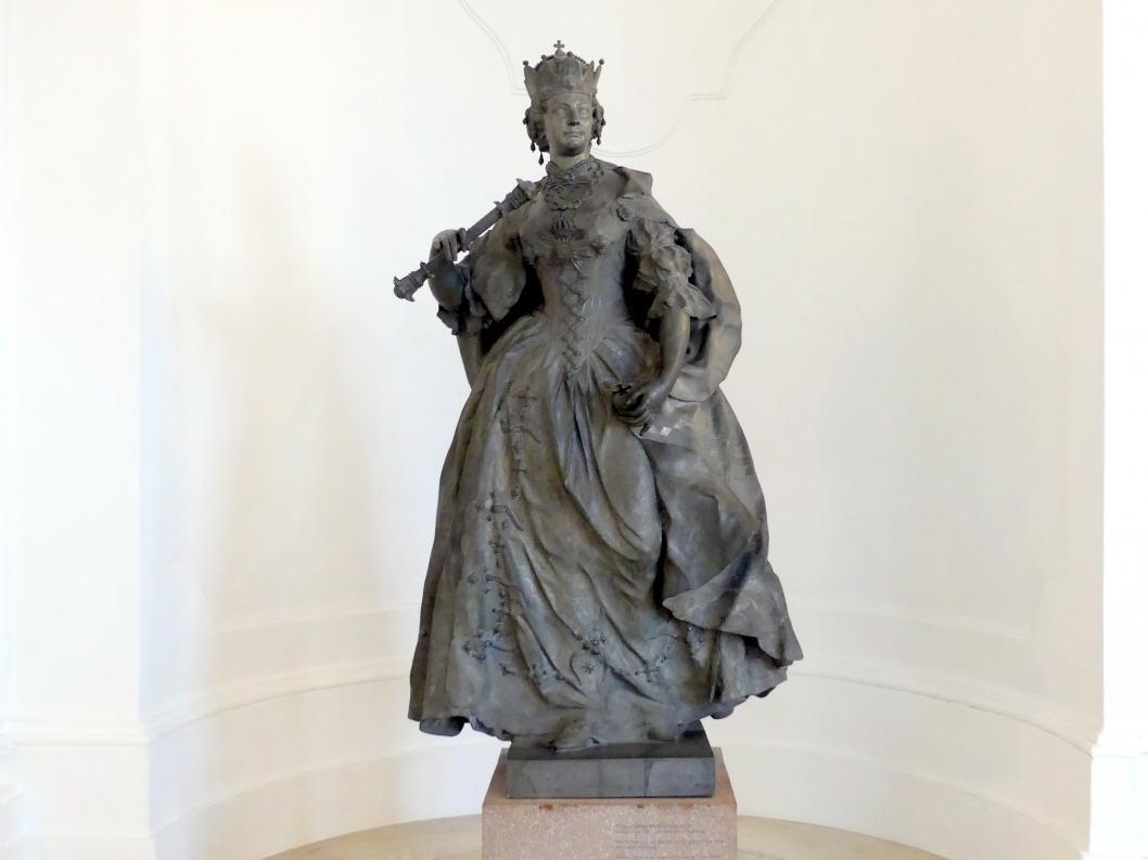 Franz Xaver Messerschmidt: Maria Theresia als Königin von Ungarn, 1764 - 1766